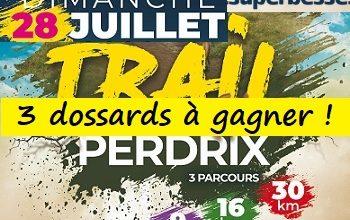 Photo of 3 dossards Trail Envol de la Perdrix 2019 (Puy de Dôme)