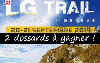 Photo of 2 dossards LG Trail 2019 (Suisse)