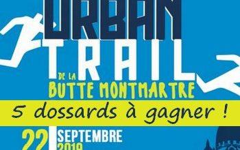 Photo of 5 dossards Urban Trail de la Butte Montmartre 2019 (Paris)