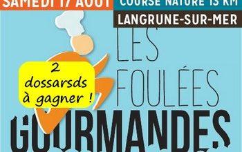 Photo of 2 dossards Foulées Gourmandes 2019 (Calvados)