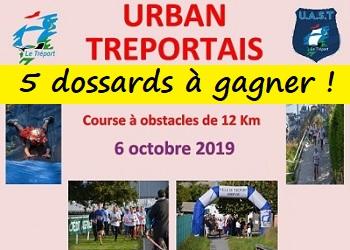 5 dossards Urban Tréportais 2019 (Seine Maritime)