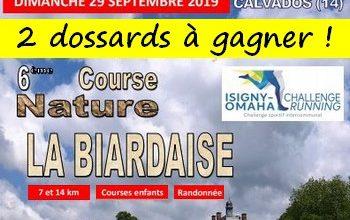 Photo of 2 dossards La Biardaise 2019 (Calvados)