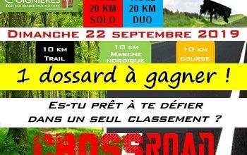 Photo of 1 dossards CrossRoad de Coignières 2019 (Yvelines)