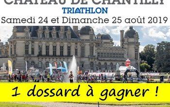 Photo of 1 dossards Triathlon du Château de Chantilly 2019 (Oise)