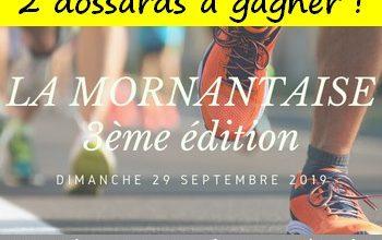 Photo of 2 dossards Mornantaise 2019 (Rhône)