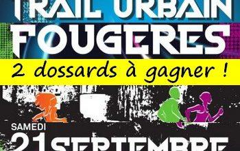 Photo of 2 dossards Trail urbain de Fougères 2019 (Ille et Vilaine)