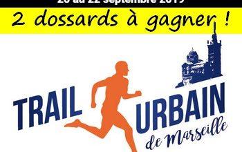 Photo of 2 dossards Trail urbain de Marseille 2019 (Bouches du Rhône)