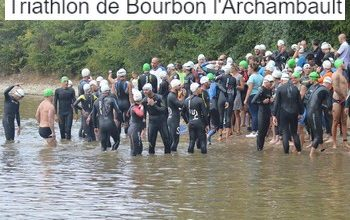 Photo of Triathlon de Bourbon l'Archambault 2019, Bourbon-l'Archambault (Allier)