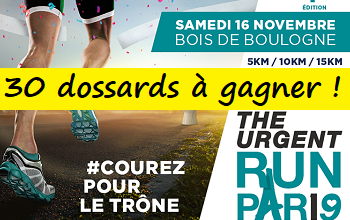 Photo of 30 dossards Urgent Run Paris 2019 (Paris)