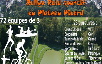 Photo of Rallye raid sportif du Plateau Picard 2020, Saint-Just-en-Chaussée (Oise)