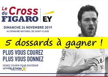 5 dossards Cross du Figaro 2019 (Hauts de Seine)