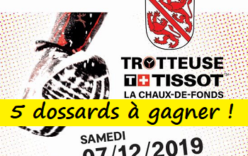 Photo of 5 dossards Trotteuse-Tissot 2019 (Suisse)