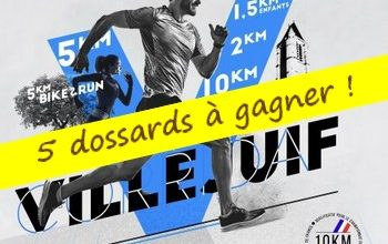 Photo of 5 dossards Corrida de Villejuif 2019 (Val de Marne)
