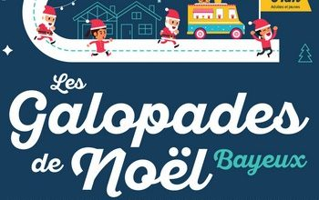 Photo of Galopades de Noël 2020, Bayeux (Calvados)