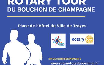 Photo de Rotary Tour du Bouchon de Champagne 2020, Troyes (Aube)