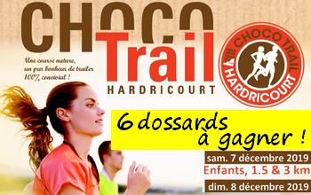 Photo of 6 dossards ChocoTrail d Hardricourt 2019 (Yvelines)