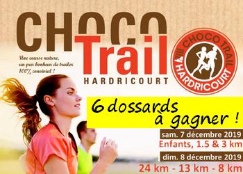 6 dossards ChocoTrail d Hardricourt 2019 (Yvelines)
