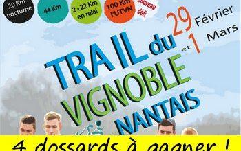 Photo of 4 dossards Trail du Vignoble Nantais 2020 (Loire Atlantique)