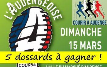 Photo of 5 dossards Audengeoise 2020 (Gironde)