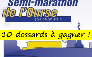 Photo of 10 dossards Semi-marathon de l Ourse 2020 (Belgique)