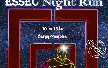 Photo of ESSEC Night Run 2020, Cergy (Val d'Oise)