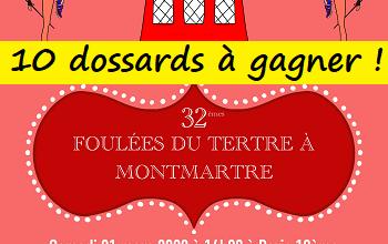 Photo of 10 dossards 10 km Foulées du Tertre de Montmartre 2020 (Paris)