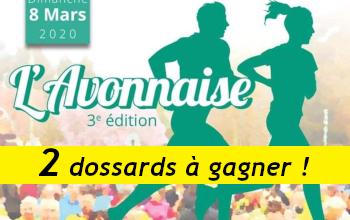 Photo of 2 dossards Avonnaise 2020 (Seine et Marne)