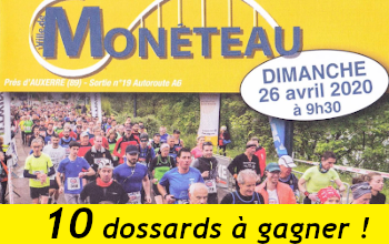 Photo de 10 dossards Semi-marathon de Monéteau 2020 (Yonne)