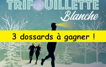 Photo of 3 dossards Trifouillette blanche 2020 (Essonne)