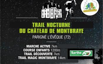 Photo de Trail nocturne du Château de Montbraye 2020, Parigné-l'Évêque (Sarthe)