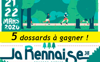 Photo de 5 dossards La Rennaise 2020 (Ille et Vilaine)