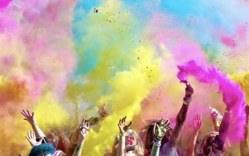 Photo of Color Run du Coeur 2020, Haulchin (Nord)