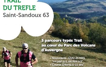 Photo of Trail du Trèfle 2020, Saint-Sandoux (Puy de Dôme)