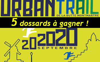 Photo de 5 dossards Urban Trail de la Butte Montmartre UTBM 2020 (Paris)